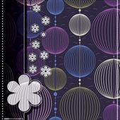 Renkli dekoratif öğeler - dikişsiz desen — Stok Vektör