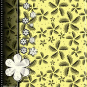 éléments décoratifs - modèle sans couture — Vecteur