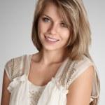 Beautiful blonde young woman — Stock Photo #11600253