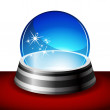 Crystal Ball — Stock Vector