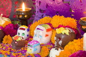 Mexican Day Of The Dead Altar — Stock Photo