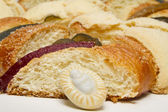 Mexican Traditional Three Kings Bread — Stock Photo