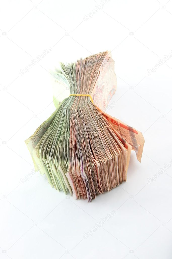 Compact old currency on flat floor. — Stock Photo #11746652