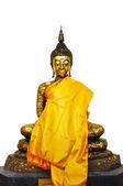 Buddha Statue with reflection — Stock Photo
