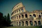 Colosseum calm day — 图库照片