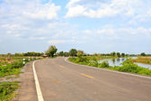 Picture of empty countryside road — Stock Photo