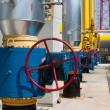 Gas compressor station — Stock Photo