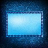 орнаментированные вектор баннер — Cтоковый вектор