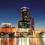 ������, ������: Orlando at night