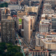 New York City Flatiron Building aerial view — Stock Photo