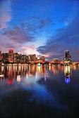 Orlando downtown dusk — Stock Photo