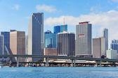 Miami skyscrapers — Stock Photo