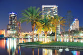 Orlando night scene — Stock Photo