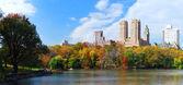 New York City Manhattan Central Park panorama — Stock Photo