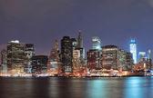 Urban city skyline — Stock Photo