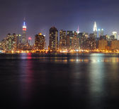 Panorama de manhattan de new york city — Photo