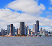 Chicago city urban skyline panorama — Stock Photo