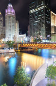 Chicago River Walk — Stock Photo