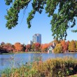 New York City Central Park Autumn — Stock Photo