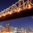 Queensboro Bridge and Manhattan — Stock Photo #11498804