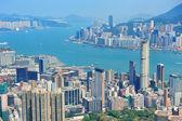 Hong Kong aerial view — Stockfoto