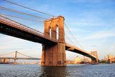 Pont de brooklyn new york city manhattan — Photo