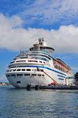 Cruise ship in Miami — Stock Photo