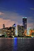 Miami urban architecture — Stock Photo