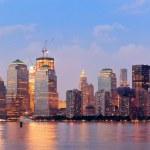 New York City Manhattan downtown skyline — Stock Photo #11512771
