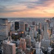 New york city zonsondergang — Stockfoto #11683989