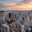 tramonto a New york city — Foto Stock #11683989