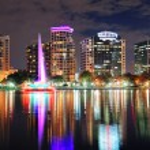 Orlando downtown dusk — Stock Photo #11684126