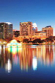 Orlando's nachts — Stockfoto