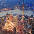Stock Photo: Shanghai sunset