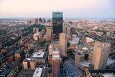 Boston sunset — Stock Photo