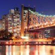 Royalty-Free Stock Photo: Queensboro Bridge and Manhattan