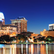 Orlando at night - 