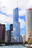 Trump Tower Chicago — Stock Photo
