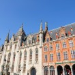 The Provincial Court (Provinciaal Hof) in Bruges, Belgium — Zdjęcie stockowe