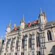 City Hall of Bruges, Belgium — Stock Photo