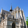 Notre Dame du Sablon in Brussels, Belgium — Stock Photo