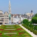 Mont des Arts in Brussels, Belgium — Stock Photo