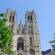 Cathedral St.Michel in Brussels, Belgium — Stock Photo