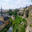 Old town and Fortifications in the City of Luxembourg — Stock Photo #11343873