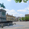 Place Guillaume II in the City of Luxembourg — Foto Stock