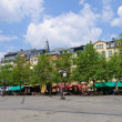 ������, ������: Place Guillaume II in the City of Luxembourg