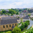 Old town of the City of Luxembourg — Foto Stock