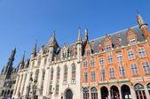 The Provincial Court (Provinciaal Hof) in Bruges, Belgium — Stock Photo