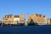The Markt (Market Square) in Bruges, Belgium — Stock Photo