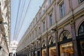 Galeries St-Hubert in Brussels, Belgium — Stock Photo